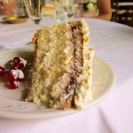 The best slice of cake I have ever tasted. EVER!