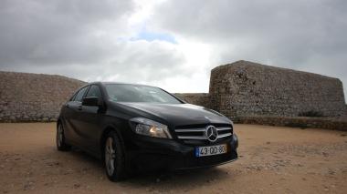 Our hire car, QD!