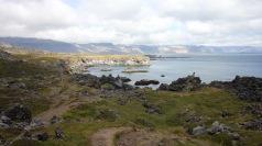 Walking between Hellnar and Arnarstapi