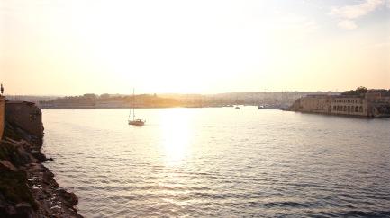 Sunset over Gzira