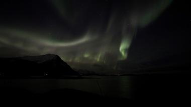 Northern Lights, Christmas Night