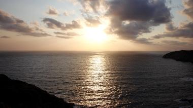 Sunset at Punta de Su Turrione, Sardinia