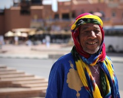 Our tour guide at Ouarzazate