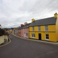 Coloured houses in Eyeries