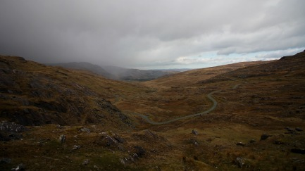 Wet weather rolling in to Healy Pass