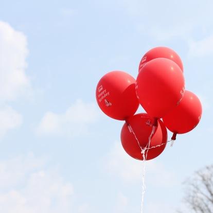 Shakespeare's 454th Birthday Balloons