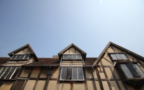 Shakespeare's birth place in Stratford-Upon-Avon