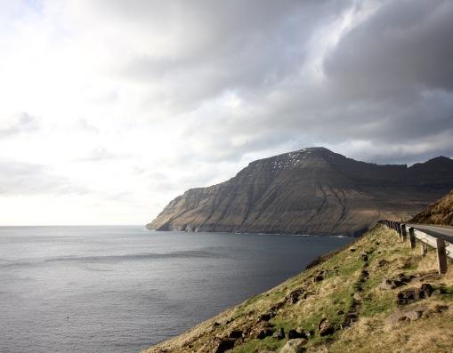 The view towards Viðareiði
