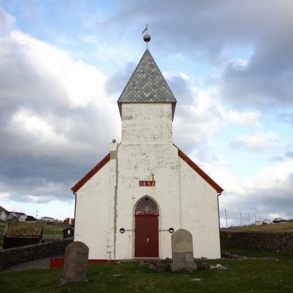 The church at Viðareiði