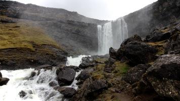 Langafjall Waterfall
