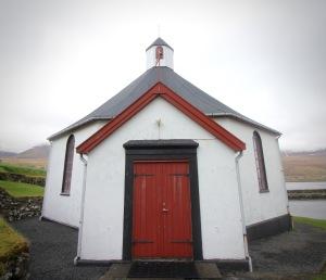 8-sided church in Haldórsvík