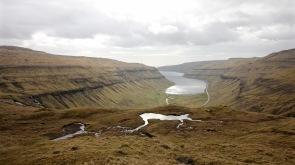 Kaldbaksfjørður from up high on the buttercup route